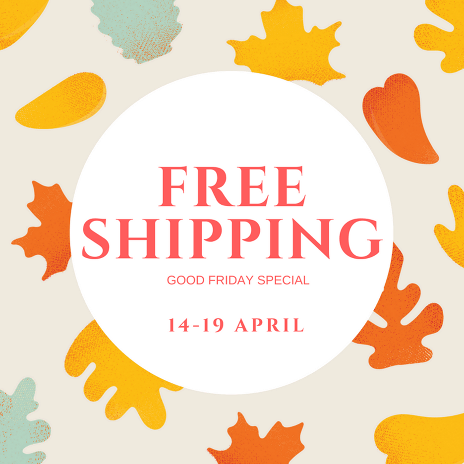 Good Friday - Free Shipping