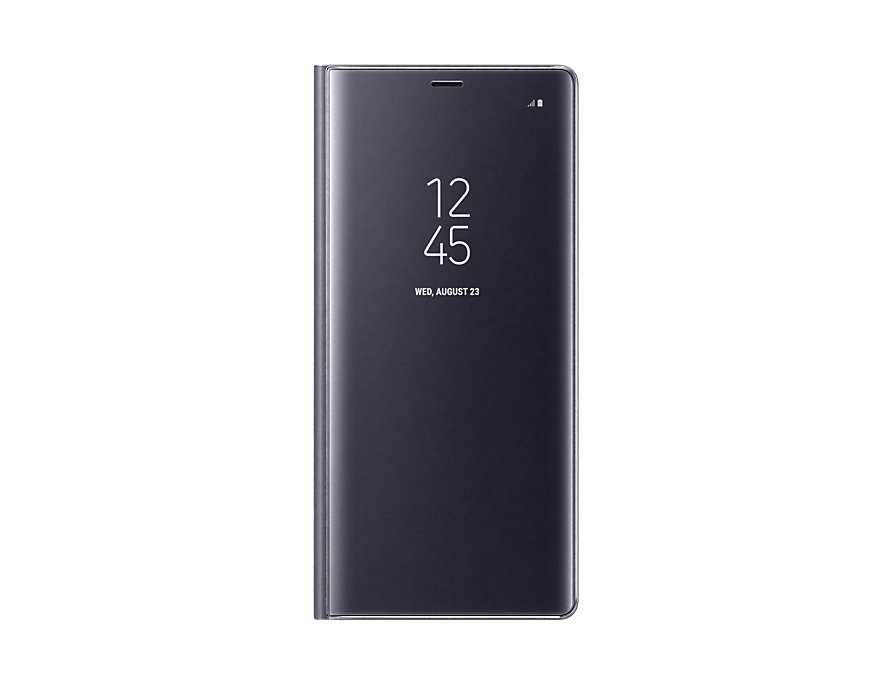 samsung note 8 clear view standing cover case