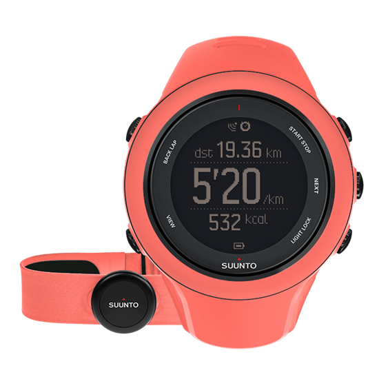Suunto Ambit3 Sport HR Multisport GPS Watch