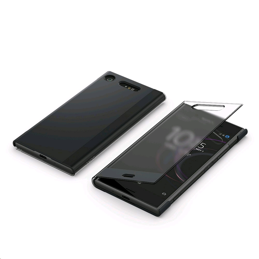 info for d720c 6437a Sony Xperia XZ1 SCTG50 Style Cover Touch Black