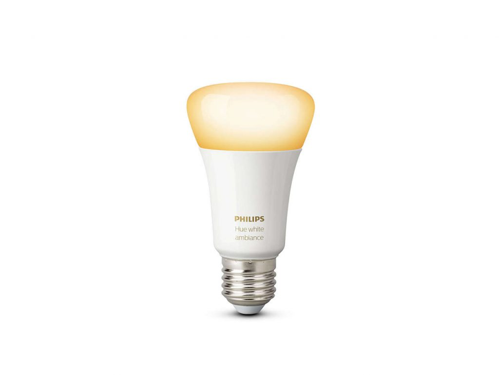 Philips Hue White Ambiance Single Bulb E27 Twin Pack