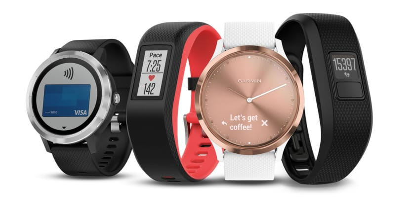 Garmin Fitness Tracker range