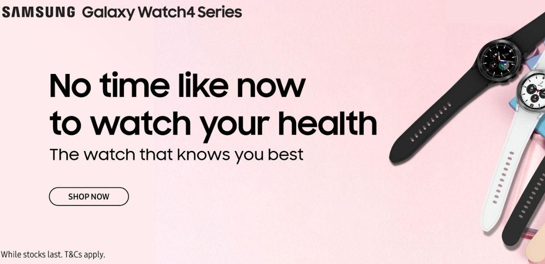 Samsung Galaxy Watch 4 Singapore